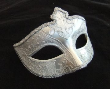 Gents Silver eye mask